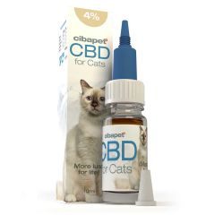 Cibapet - CBD Oil for cats 4% - 10ml