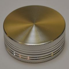 50MM 2P Grinder Silver