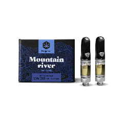 Vappease CBD 2x Cartridge - Mountain River / OG Kush - 50% (500mg)