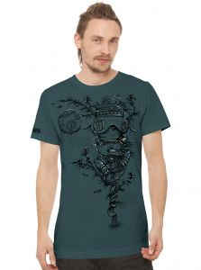 Opium T-Shirt for Men by Paradise Seeds
