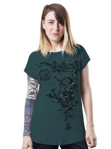 Opium T-Shirt for Ladies by Paradise Seeds