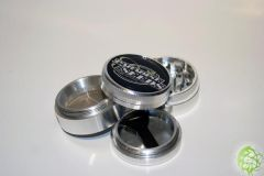 38mm 4p Paradise Seeds Grinder Logo Black