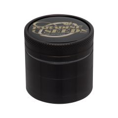 50MM 4P Paradise Seeds Grinder Black