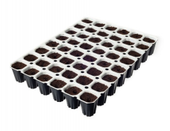 Spongepot - 48 tray - All in one germination kit